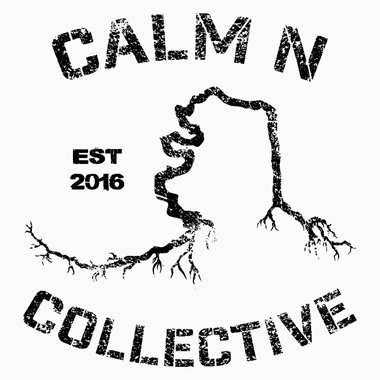 Calm N Collective black text